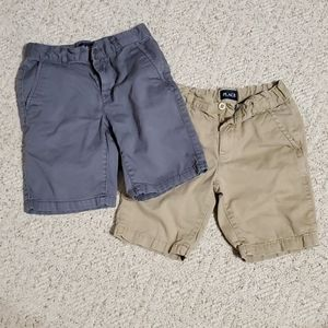 Two pair boys size 7 shorts
